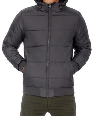 Jacken von der Marke B&C namens Jacket Superhood /Men in der Farbe Black