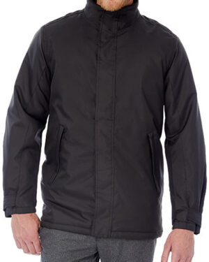 Jacken von der Marke B&C namens Jacket Real+ / Men in der Farbe Black