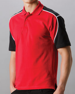 Poloshirts von der Marke Formula Racing namens Classic Fit Monaco Polo Shirt in der Farbe Black