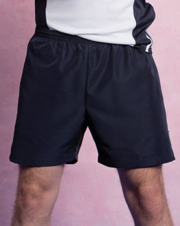 Hosen von der Marke Gamegear namens Classic Fit Plain Sports Short in der Farbe Black