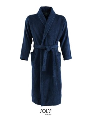 Bademäntel von der Marke SOL´S namens Bathrobe Palace in der Farbe French Navy
