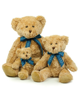 Stofftiere & Figuren von der Marke Mumbles namens Bracken Bear in der Farbe Light Brown