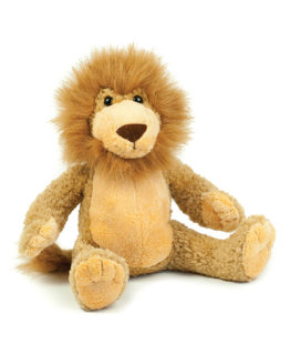 Stofftiere & Figuren von der Marke Mumbles namens Lenny the Lion in der Farbe Mid Brown