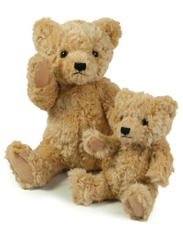 Stofftiere & Figuren von der Marke Mumbles namens Classic Jointed Teddy Bear in der Farbe Brown