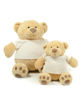 Stofftiere & Figuren von der Marke Mumbles namens Honey Bear in der Farbe Light Brown