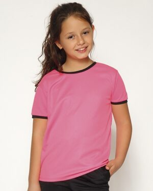 T-Shirts von der Marke Nath namens Action Kids - Short Sleeve Sport T-Shirt in der Farbe Black