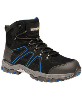 Schuhe von der Marke Regatta Safety Footwear namens Pro Downburst S1P Safety Hiker in der Farbe Black