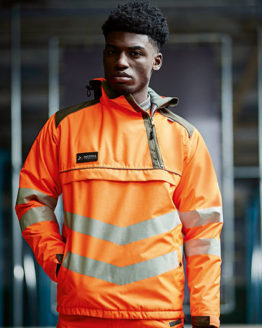 Jacken von der Marke Regatta Tactical namens Hi-Vis Overhead Bomber Jacket in der Farbe Yellow
