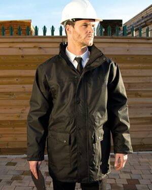 Jacken von der Marke WORK-GUARD namens Platinum Managers Jacket in der Farbe Black