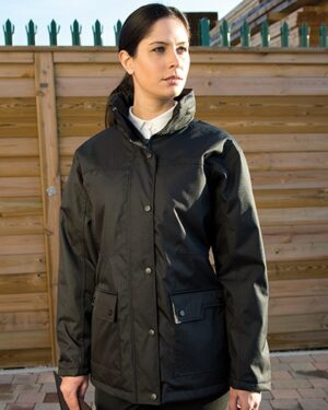 Jacken von der Marke WORK-GUARD namens Ladies` Platinum Managers Jacket in der Farbe Black
