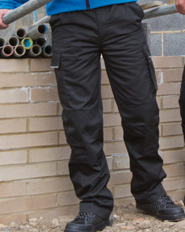 Hosen von der Marke WORK-GUARD namens Action Trousers in der Farbe Black
