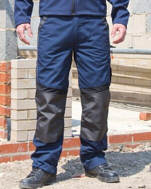 Hosen von der Marke WORK-GUARD namens Technical Trouser in der Farbe Grey