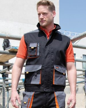 Westen & Bodywarmer von der Marke WORK-GUARD namens Work-Guard Lite Gillet in der Farbe Grey