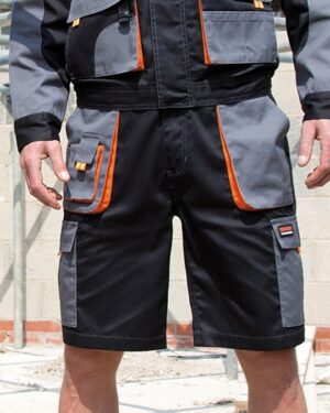 Hosen von der Marke WORK-GUARD namens Work-Guard Lite Shorts in der Farbe Grey