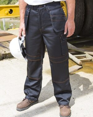 Hosen von der Marke WORK-GUARD namens Work-Guard Lite X-Over Holster Trouser in der Farbe Black