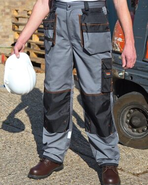 Hosen von der Marke WORK-GUARD namens X-Over Holster Trouser with Cordura® in der Farbe Grey