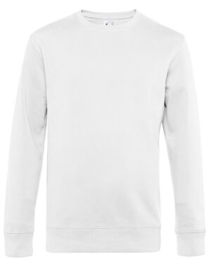 Sweatshirts & -jacken von der Marke B&C namens KING Crew Neck Sweat in der Farbe White
