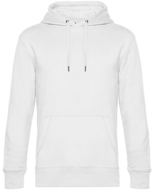 Sweatshirts & -jacken von der Marke B&C namens KING Hooded Sweat in der Farbe White