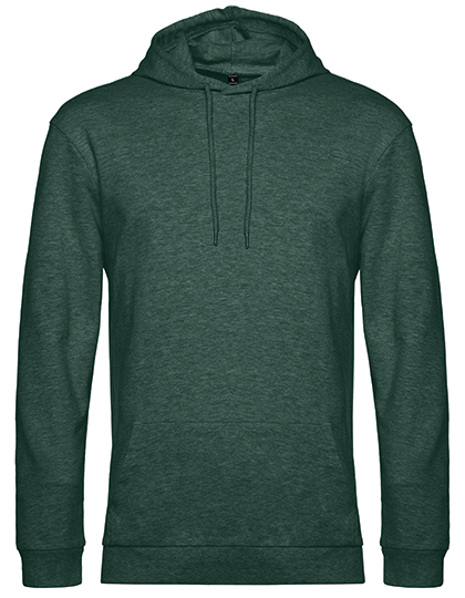 Sweatshirts & -jacken von der Marke B&C namens #Hoodie in der Farbe Heather Dark Green