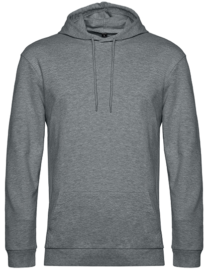 Sweatshirts & -jacken von der Marke B&C namens #Hoodie in der Farbe Heather Mid Grey