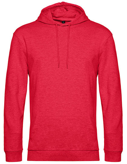 Sweatshirts & -jacken von der Marke B&C namens #Hoodie in der Farbe Heather Red