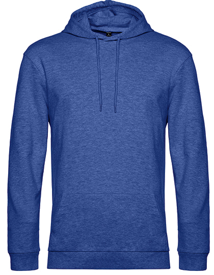 Sweatshirts & -jacken von der Marke B&C namens #Hoodie in der Farbe Heather Royal Blue