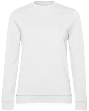 Sweatshirts & -jacken von der Marke B&C namens #Set In Sweat /Women in der Farbe White