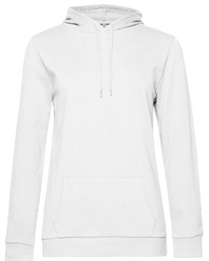 Sweatshirts & -jacken von der Marke B&C namens #Hoodie Sweat /Women in der Farbe White